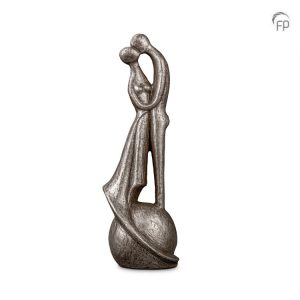 Keramische urn I loved and lost you - zilver