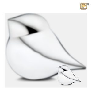 K562 - Mini Soul Bird Urn Zilver - Man