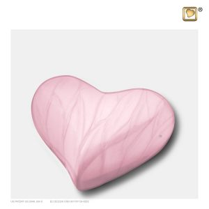 K667 - Mini Urn Hart Kind Roze