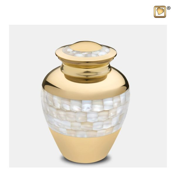 M230 - Klein Urn Mother Of Pearl